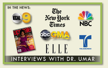 Dr. Umar in the news