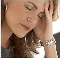 Stress commonly contributes to female hair loss. Image courtesy of spiritwomen.com