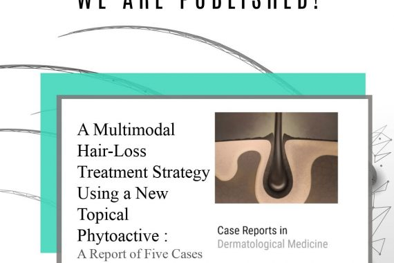 Dr.U's study entitled, A Multimodal Hair-Loss Treatment Strategy Using A New Topical Phytoactive